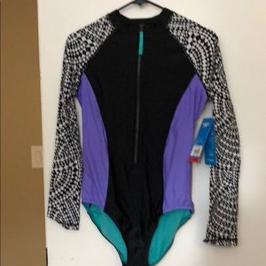 Women's Speedo long Sleeve Bathing Suit
